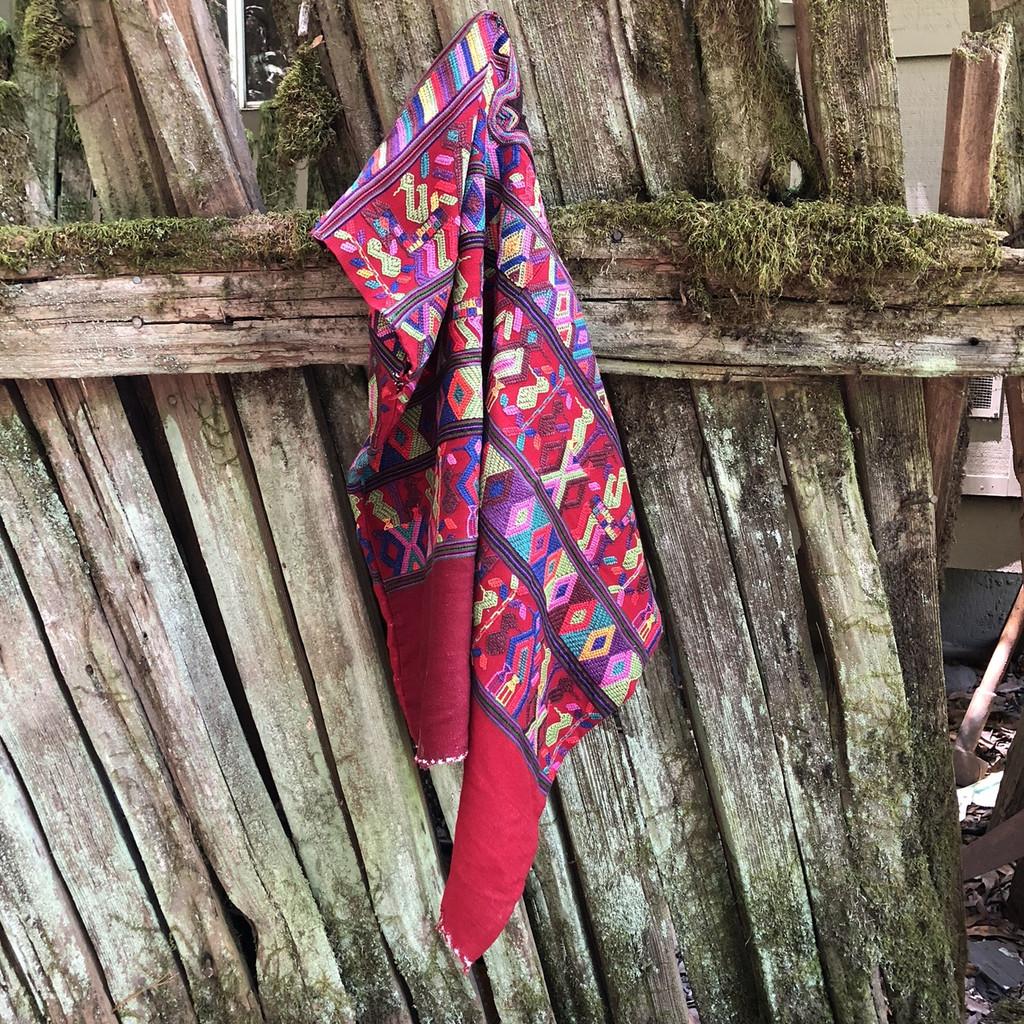 HUIPLE GUATEMALA Huipil - San Juan Cotzal ethnic weaving