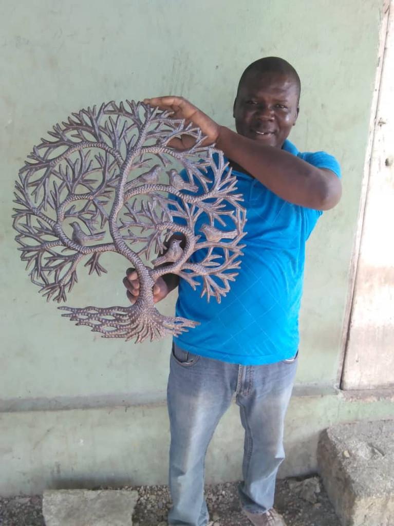 Edward Dieudon, Haitian Artist.