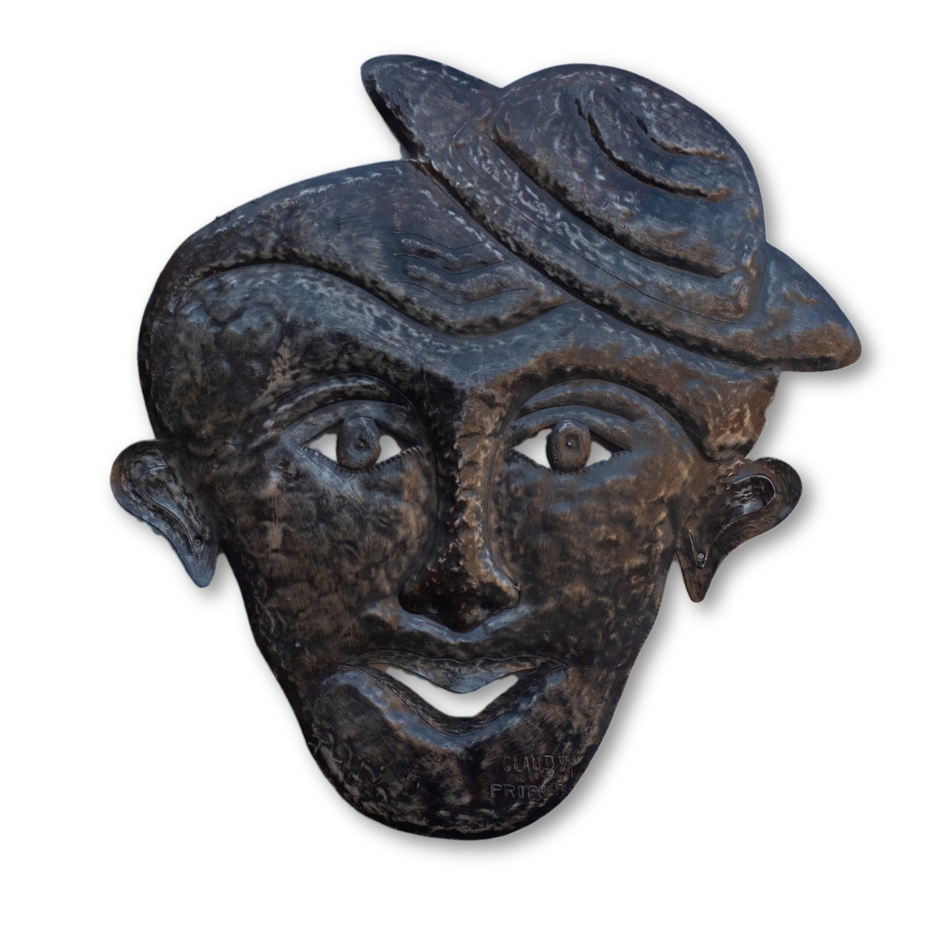 Mask, Man in Hat, Quality, Sturdy, One-of-a-Kind, Limited Edition, Unique, Recycle, Recyclable,