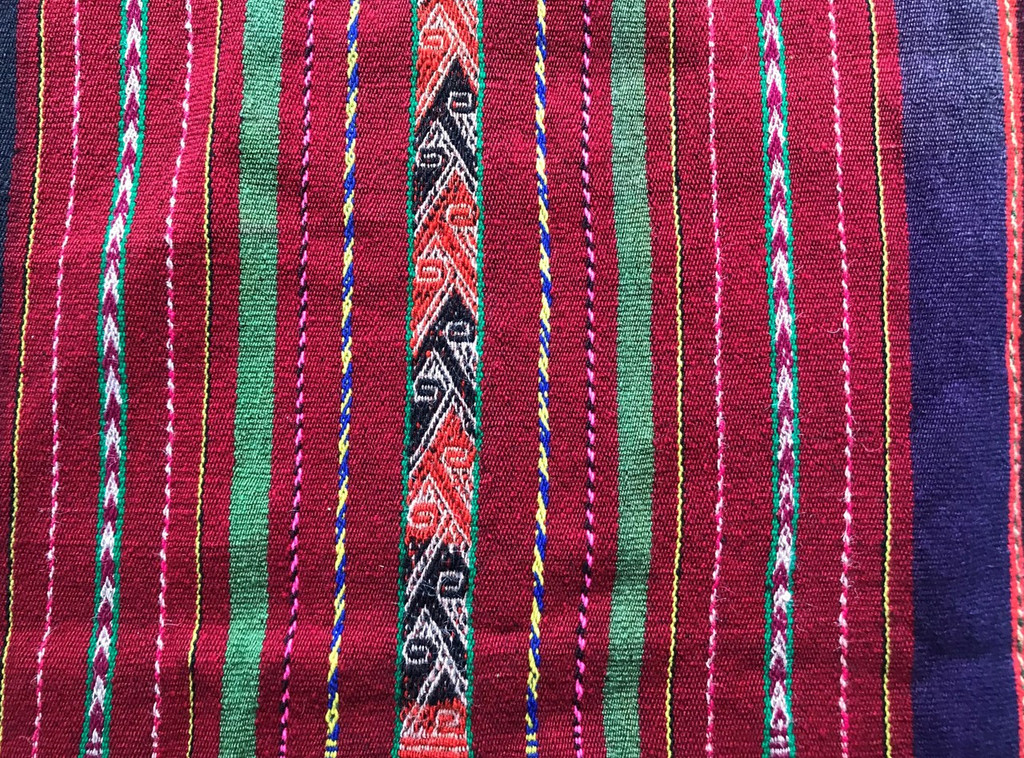 Vintage, Ethnic Textile, Bolivia, Bolivian, Central America, Southern America Art