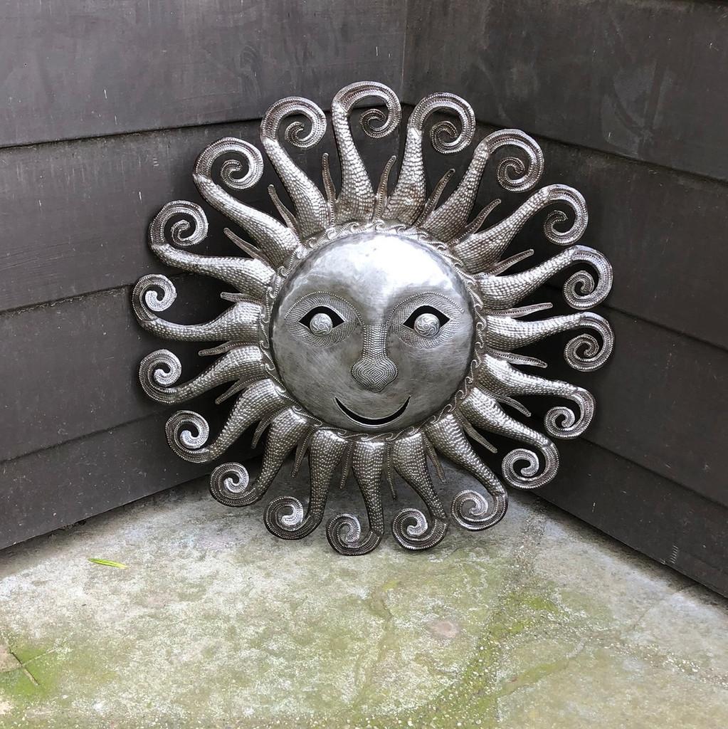 indoor outdoor metal sun