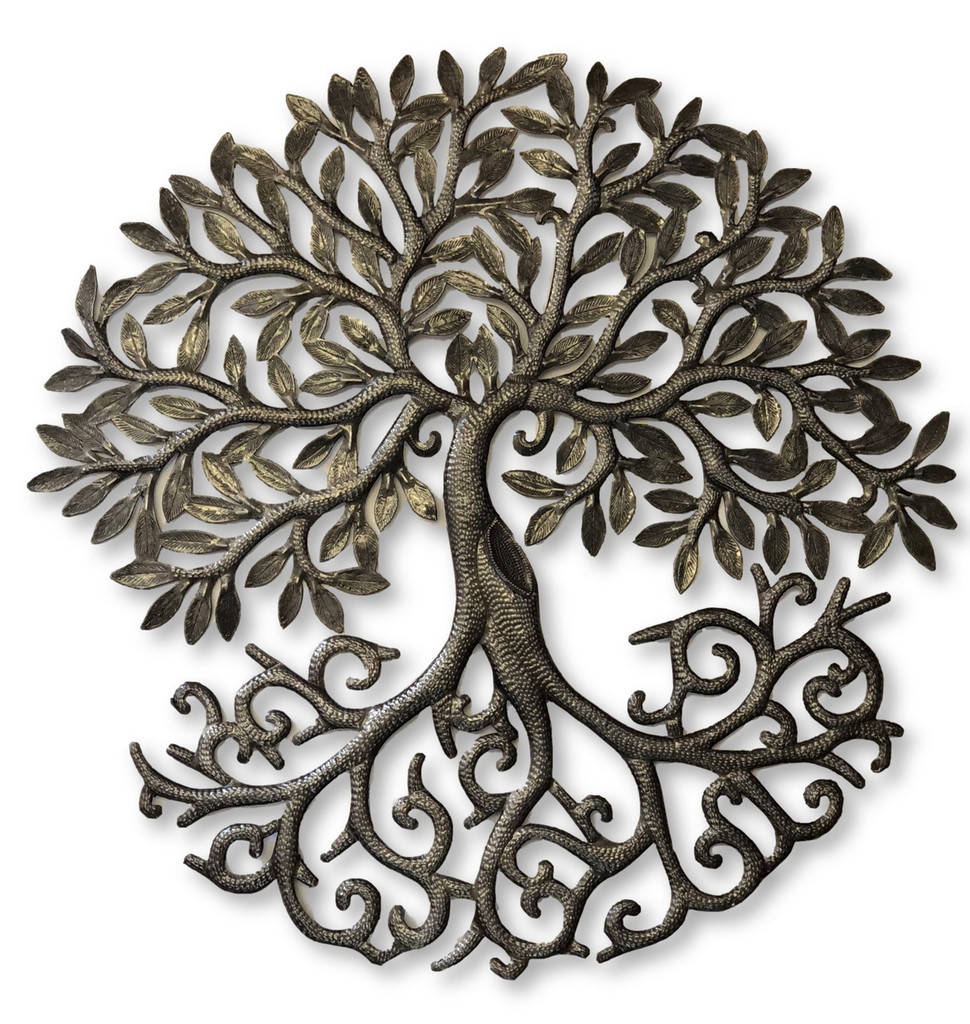 haiti metal wall art