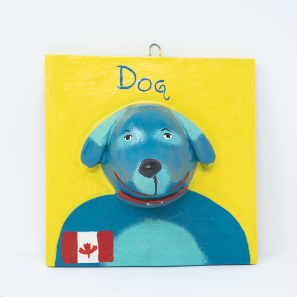 Canada, Dog, Perro, Canadian, Maple Syrup, Flag, Handcrafted, Handmade