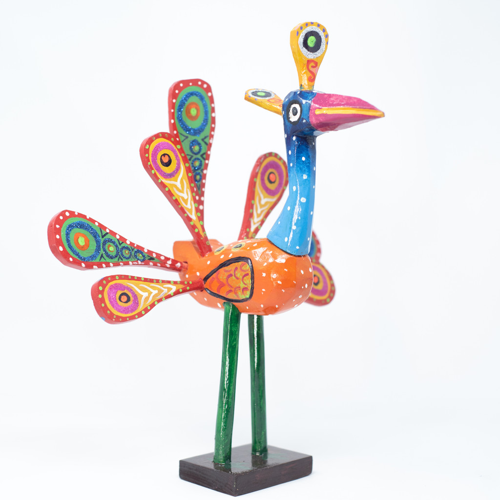Peacock, Bird, Limited Edition, Sustainable, Eco-Friendly, Handcrafted, Handmade