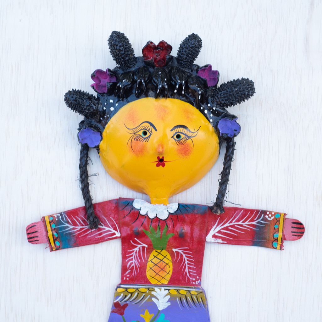 Pineapple, Fruit, Folk Art, Mexico,