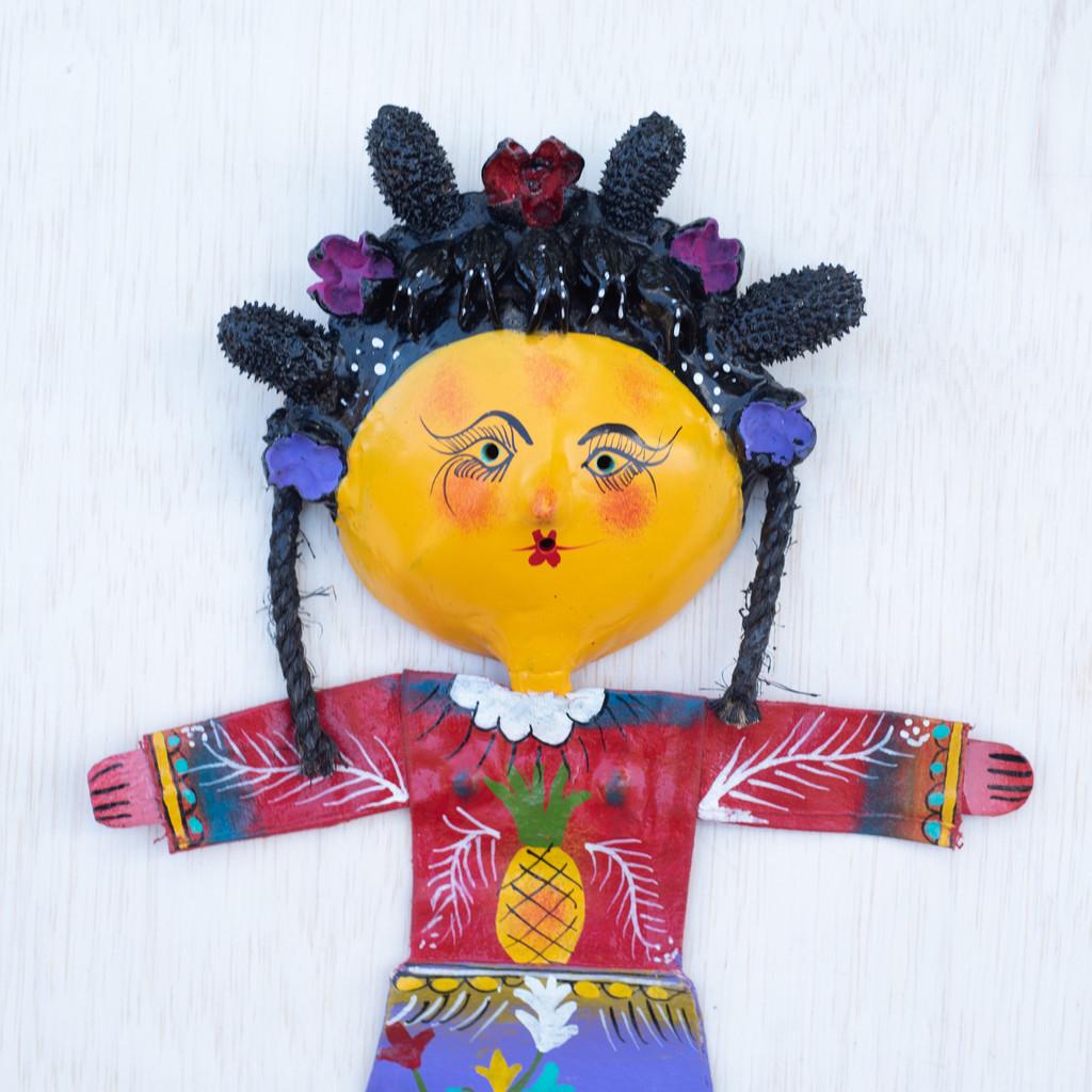 Pineapple, Fruit, Folk Art, Mexico,