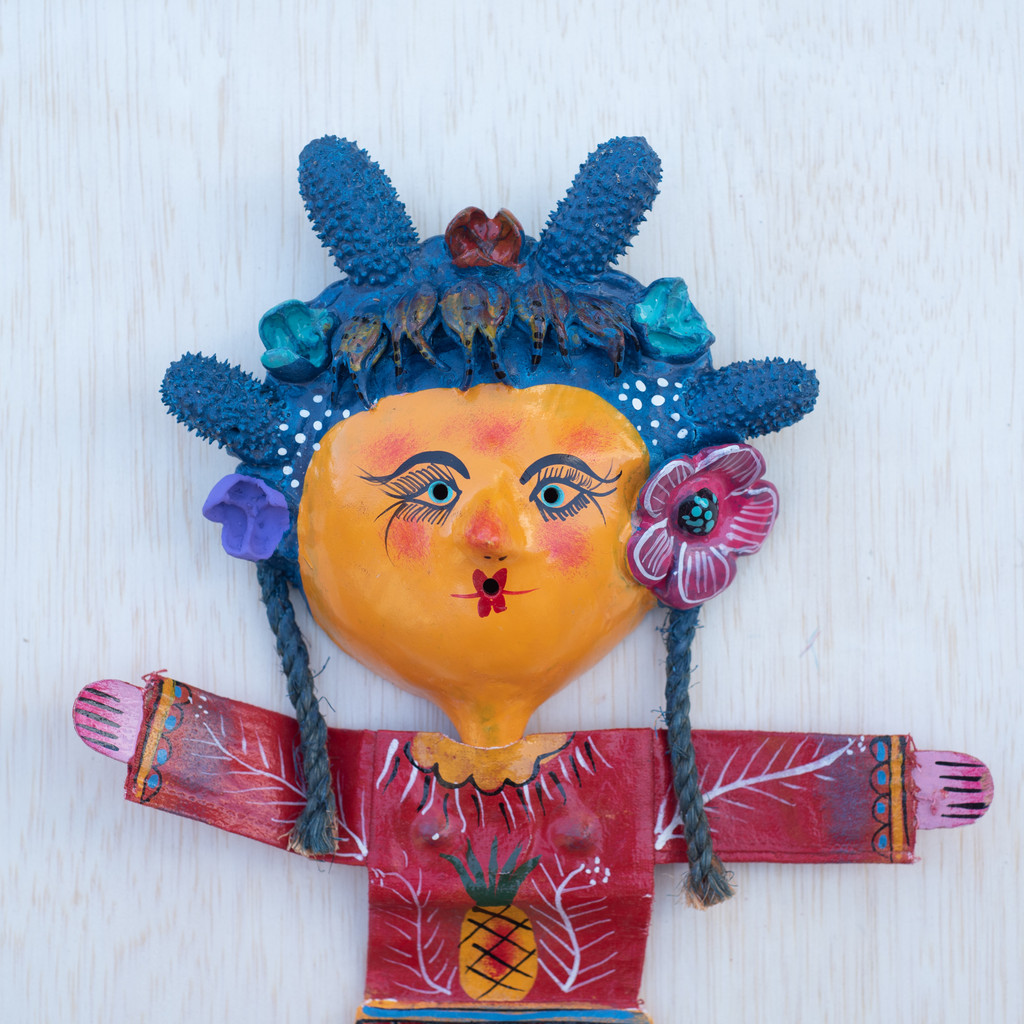 Viva Mexico  Eccentric, One-of-a-Kind, Limited Edition, Sustainable, Eco-Friendly, Handcrafted, Hand Painted, Handmade, Recycle, Recyclable, Flowers
