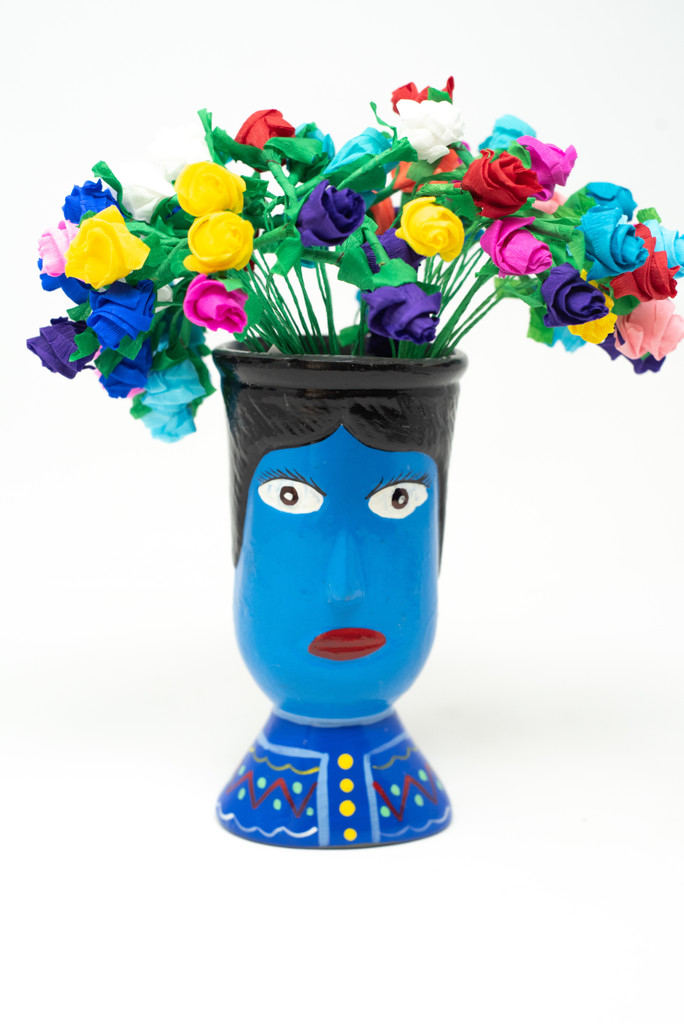 Flowers, Cup Holder, Office Supplies, Pen Holder, Paper Clip Holder