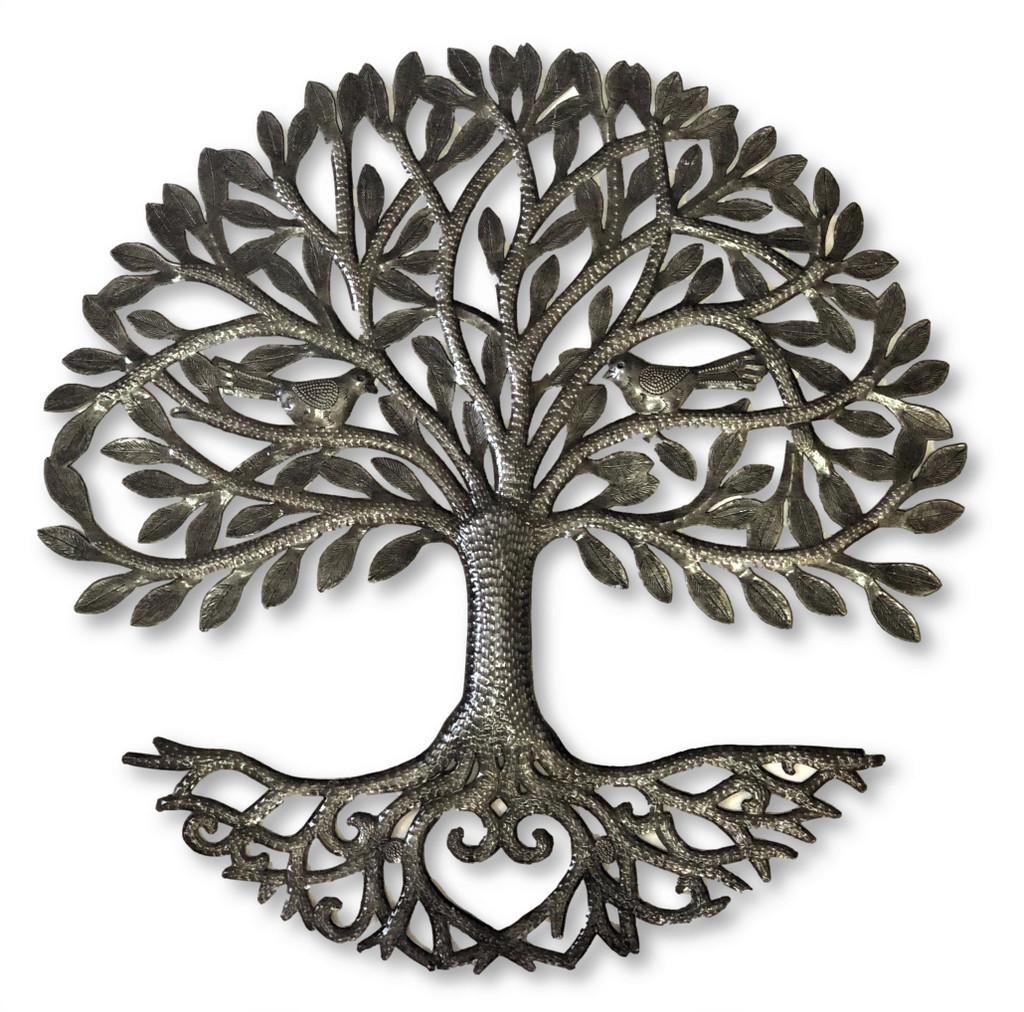 Haiti metal wall art Tree of Life