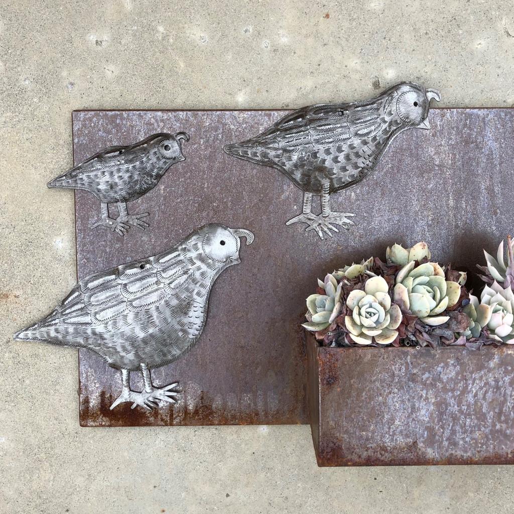 Fair Trade metal wall Art Haiti