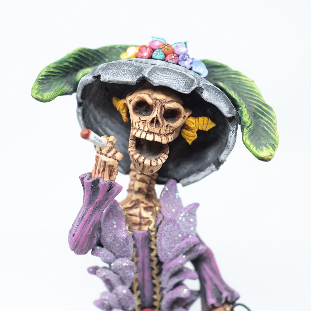 Smoking, Fancy Lady, Old Lady, Death, Love