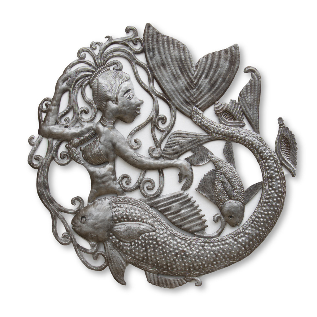 Mermaid, Fish, One-of-a-Kind, Limited Edition, Sustainable, Eco-Friendly, Handcrafted, Handmade, Fish, Mystical Creature, Beach Theme
