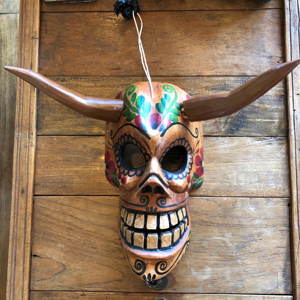 creepy Halloween mask