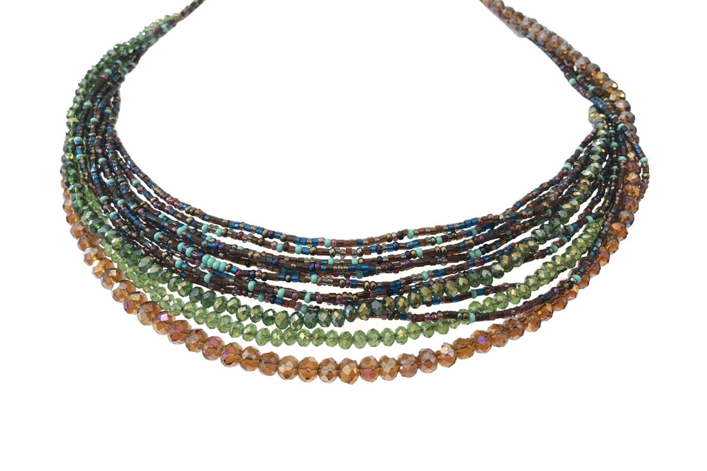 multi stand necklace 2