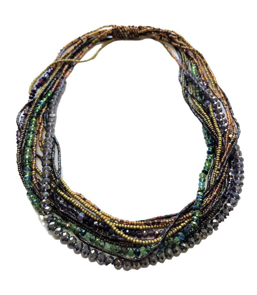 multi stand necklace