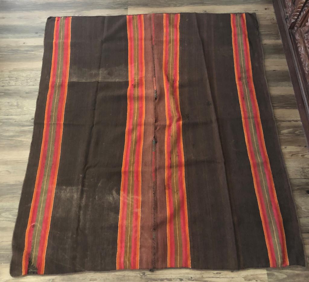 Bolivian Poncho Tarabuco , from Potosi Bolivia, Vintage Textile, Collectible Item