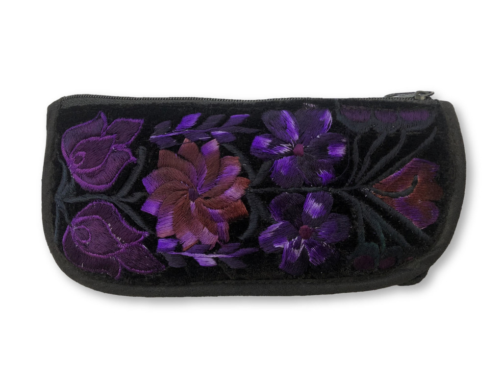 Patterns and Colors may vary, Plush Velveteen Back, Unique Design (Purple)