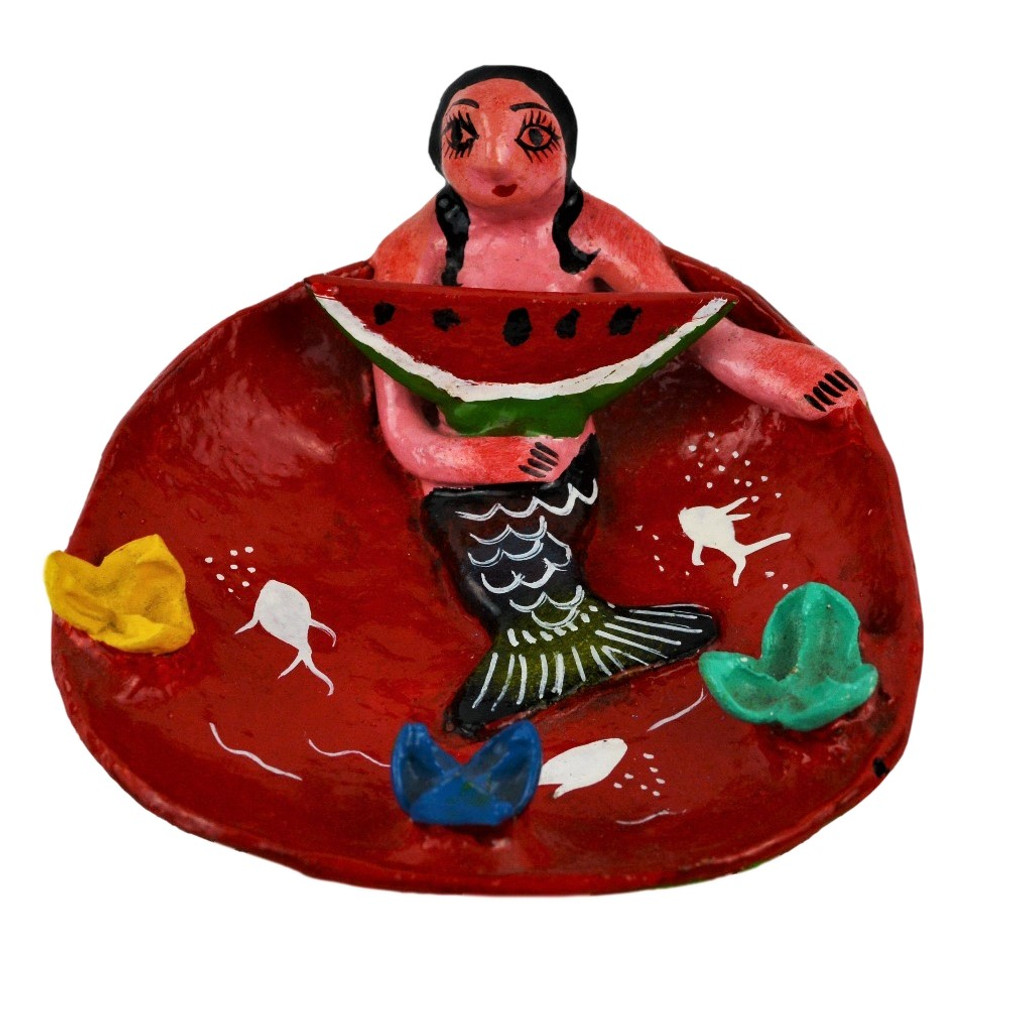 Mexican Dolls made from Gourds, Whimsical folk art