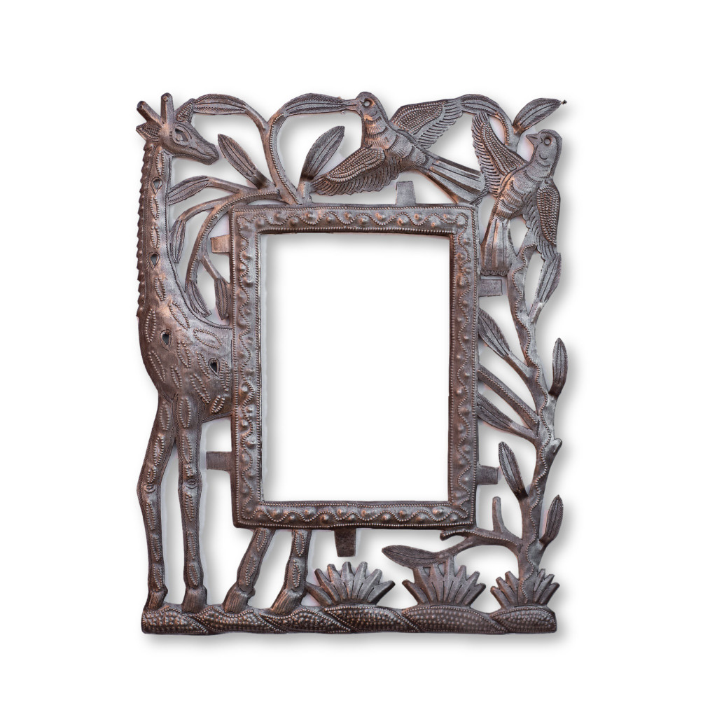 Giraffe, Birds, Frame, Home Decor, Limited Edition, Sustainable, Eco-Friendly, Handcrafted, Handmade, Flowers, Interior Design