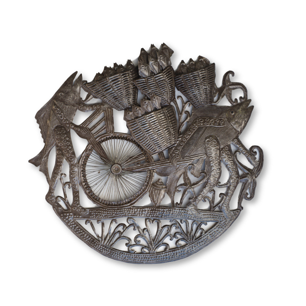 Fish, Fish Market, Flea Market, Bicycle, Selling Fish, Aquarium, Fishing, One-of-a-Kind, Limited Edition, Sustainable, Eco-Friendly, Handcrafted, Handmade,