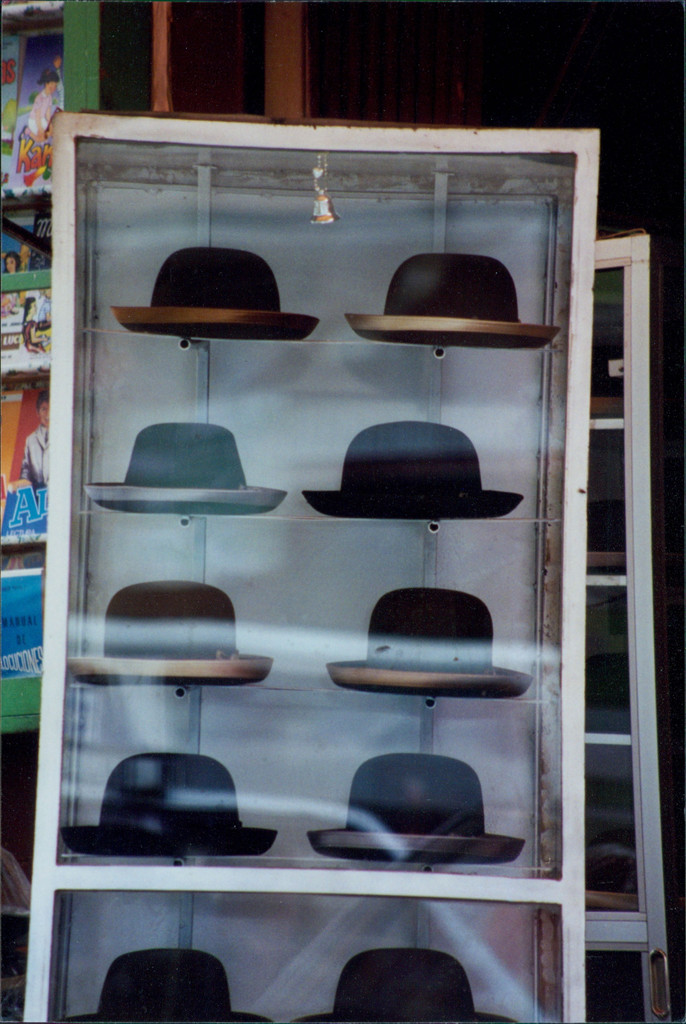Traditional Bowler Hats for women in Bolivia La Paz
