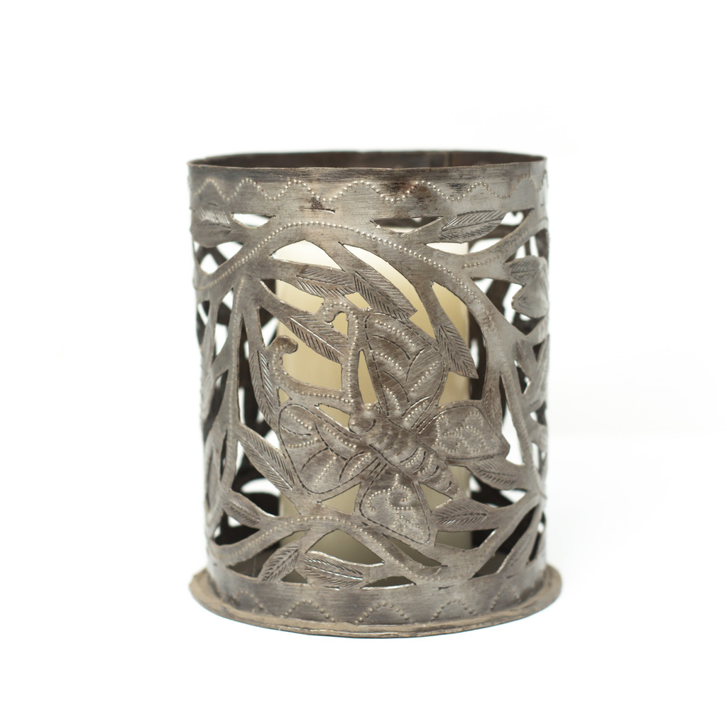 Candle Holder, Leaves, One-of-a-Kind, Limited Edition, Sustainable, Eco-Friendly, Handcrafted, Handmade, Recycle, Recyclable,