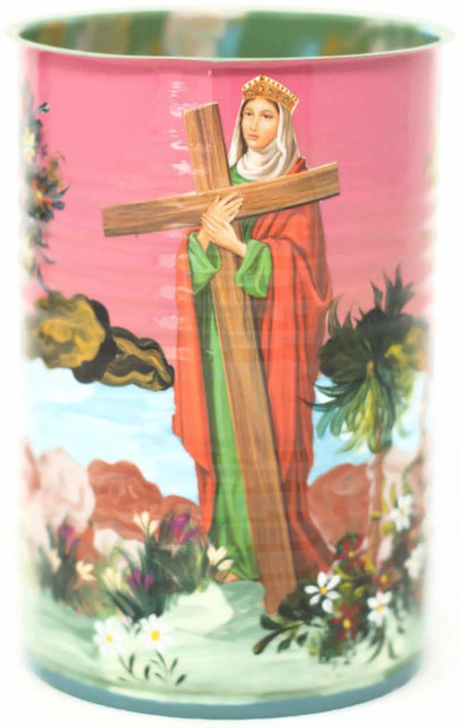 Virgin Mary With Cross