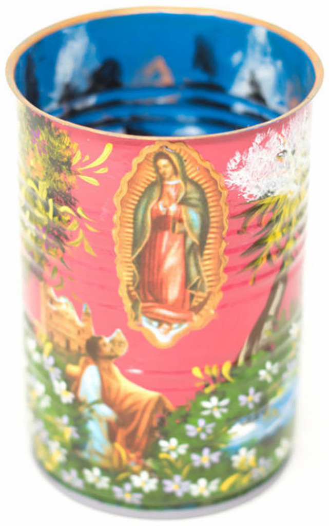 Virgin Mary appeared to an Juan Diego, in the last of several apparitions.