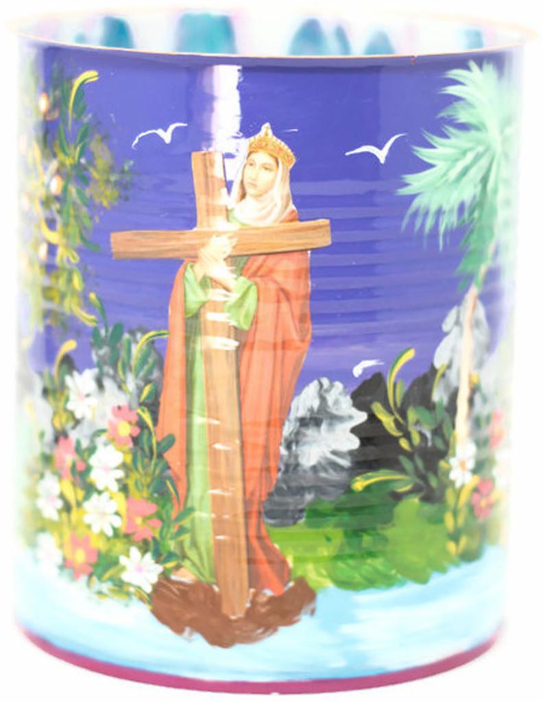 Virgin with Cross