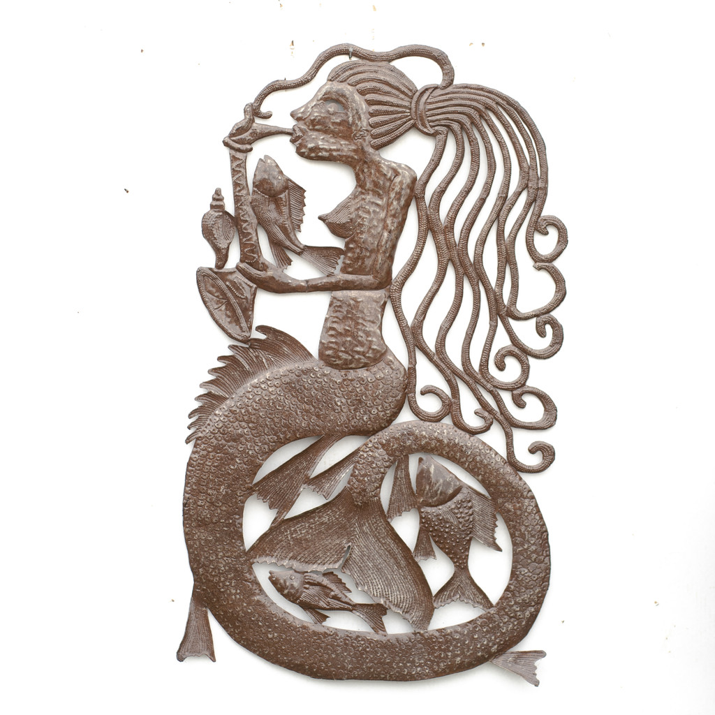 Mermaid, Seashell, Fish, Fishing, Concert, Choir, Singing, Music, Musician, One-of-a-Kind, Limited Edition, Handcrafted, Handmade, Sustainable, Eco-Friendly, Recycle, Recyclable