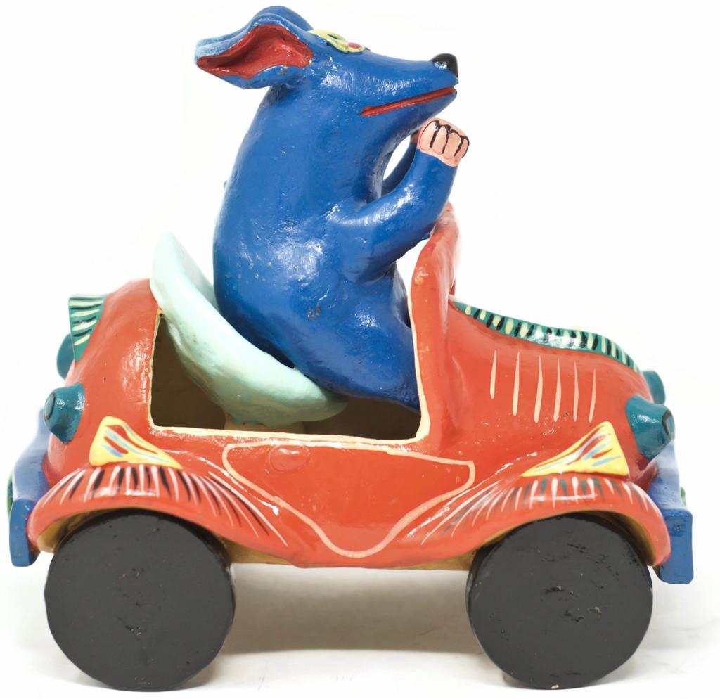 Blue Dog Folk Art