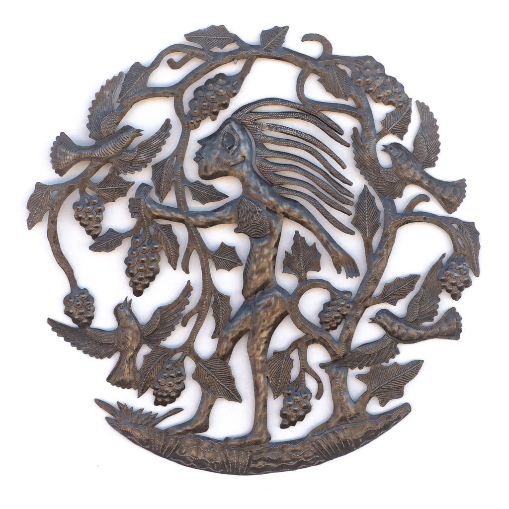 Vineyard, Grapes, Winery, Wine, Sustainable, Eco-Friendly, Limited Edition, Handcrafted, Handmade, Recycle, Recyclable, Birds, Garden Decor,