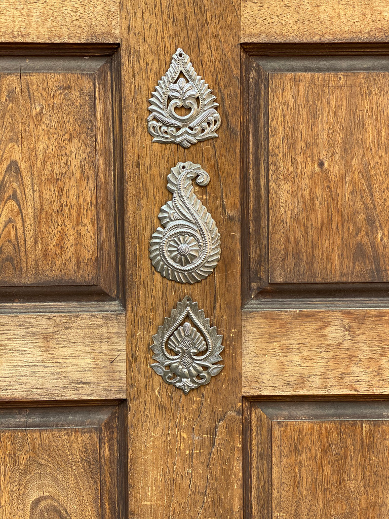 Hand made Paisley Accents, Embellishment for Home, Decoration for Christmas Tree