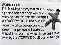 legend of the Guatemalan Worry Doll