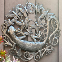 Gecko, Geckos, Lizards, Lizard, Iguana, Butterfly, Butterflies, Insects, Reptiles, Garden Decor, Gardening, Outdoor, Patio Furniture