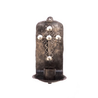 Cross, Religious, Religion, Faith, Candle Holder, Candles, Candlelight