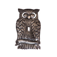Owl, Birds, Eco-Friendly, Owl Switchplate, Switchplate, Outlet Cover