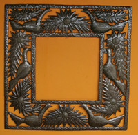 Garden Metal Wall frames with birds and flowers
