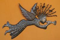 Curls bows and whimsy Haiti Metal art angel