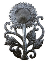 Metal Sunflower wall art - Haiti