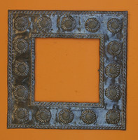"""Medium Sunflower Mirror MIR142  22.5"""" x22.5"""""""