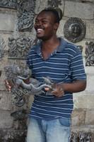 Haiti Metal Artist - Art under the tree