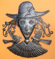 Garden Grandma, Haiti Metal Art