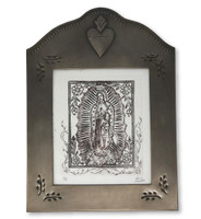 our lady of Guadalupe Tin fame original art work