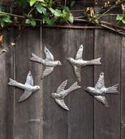 Set of 5 Garden Birds