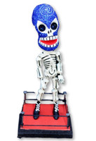 day of the dead, Dia de los Muertos, Wrestler , bendable figure