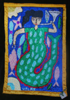 Mermaid Voodoo Flag 1