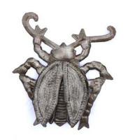 metal garden beetles 3-d wings haiti fairtrade
