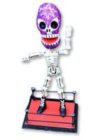 day of the dead, Dia de los Muertos Wrestler , bendable figure