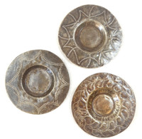 """Candle Plates  SM363 (set of 3) 6"""" x 6"""""""